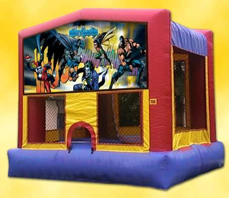 BATMAN themed Bounce house rentals Miami