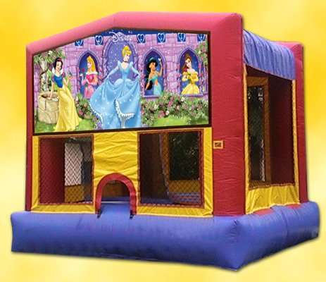 Disney Princess themed bounce house rentals