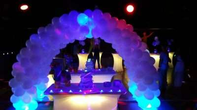 party rentals balloon party