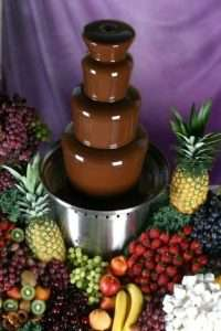 chocolate fountain faulty techniques tricks