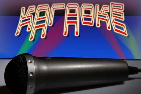 a karaoke sound mixer