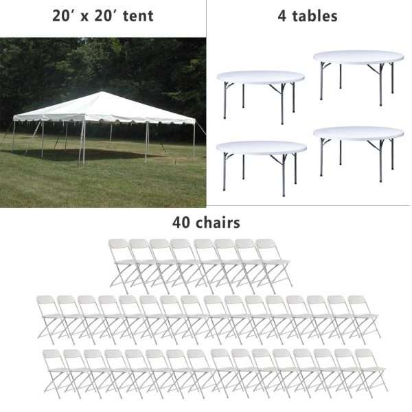 24 hours party rental package #7