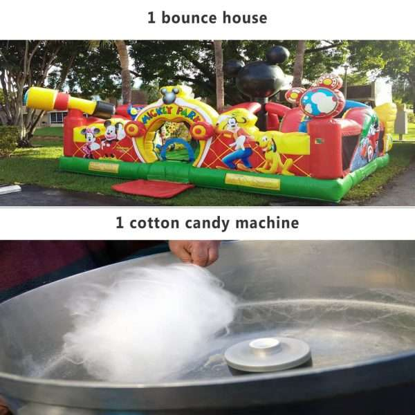 24 hours bounce house rentaals packages 3