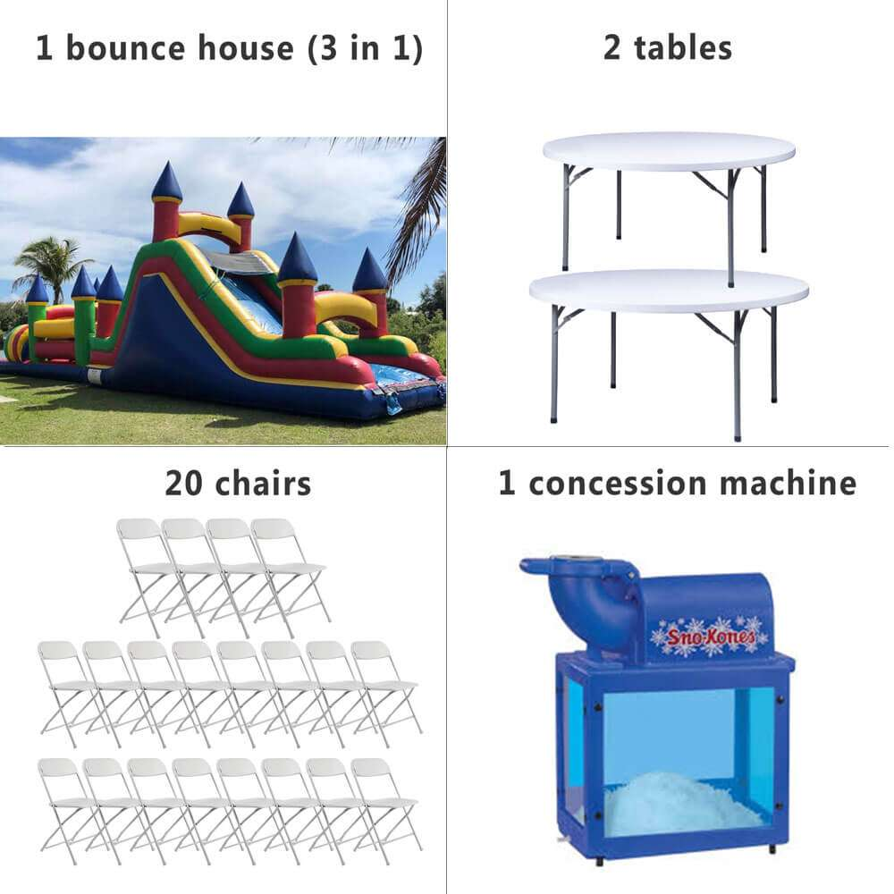 24 hours cheap birthday party package