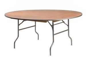 72-inch Roundtables - Wooden
