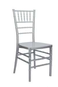 chiavari silver chair