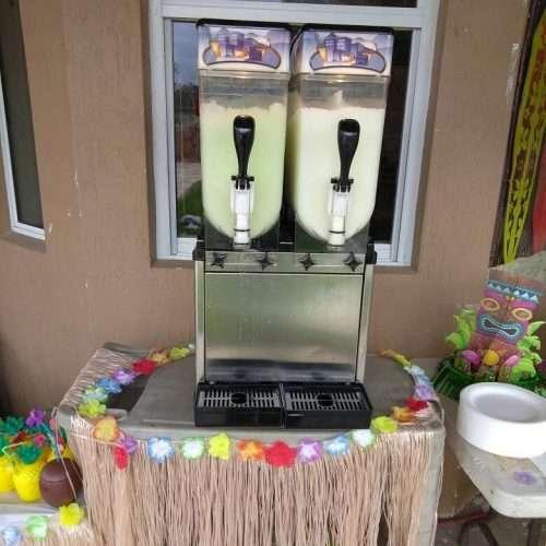 double Margarita Frozen Machine Rental Miami