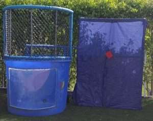 dunk tanks rentals with target