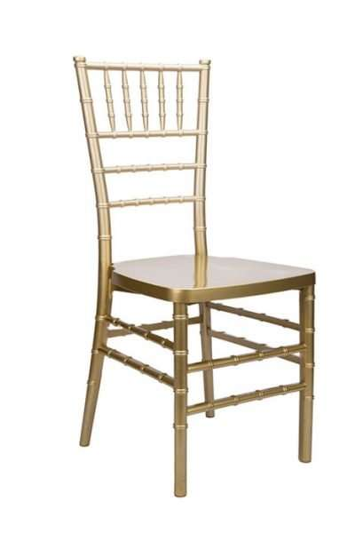 gold wedding chiavari chair rentals