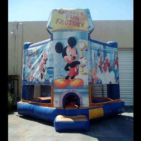 mickey mouse bounce house rental Miami fun factory
