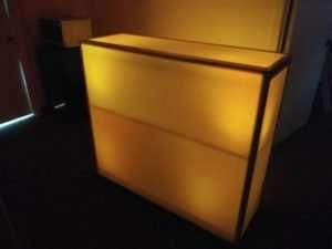 orange led bar