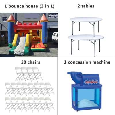 Miami birthday party rentals package 4