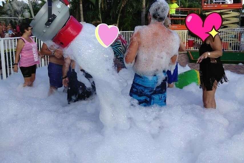 foam machine rental party