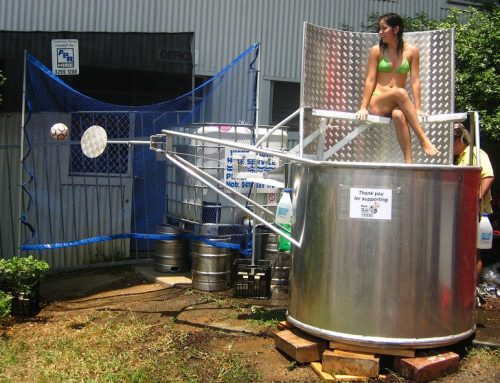 How to Make a Dunk Tank Fundraiser a Success while Following Safety Rules?