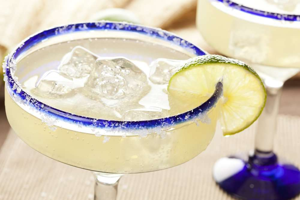 Margarita drinks with Lime