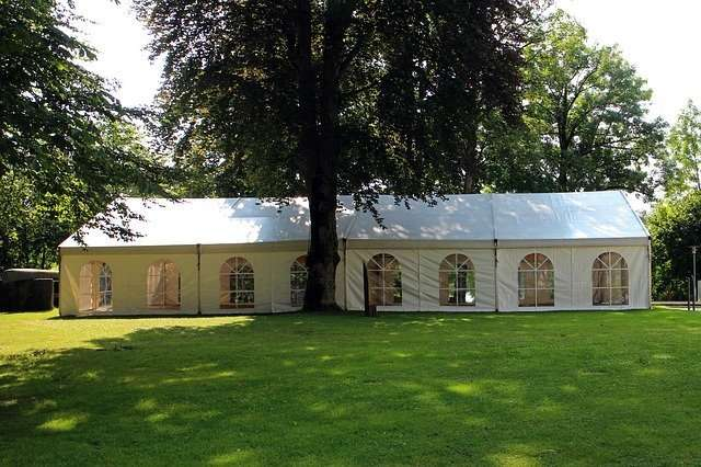 Marquee event-tent