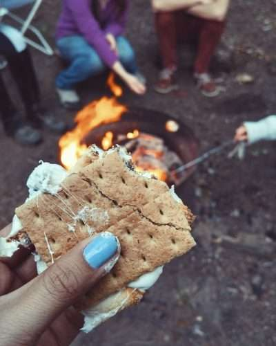 s'mores-outdoor camping