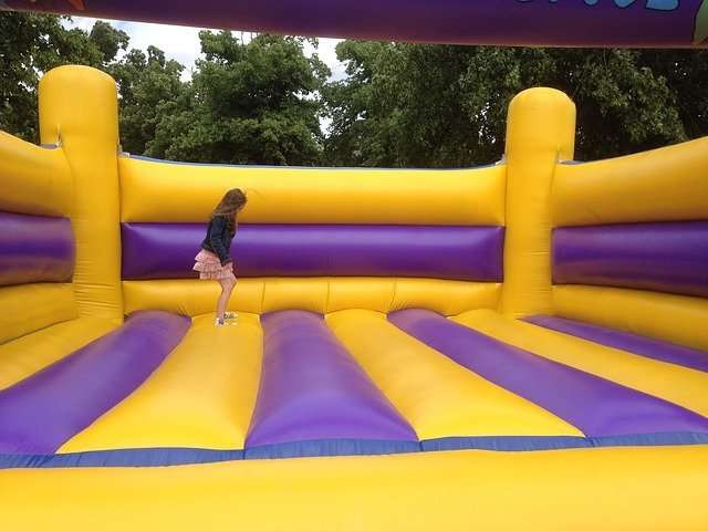 bouncing castle time sensitive test