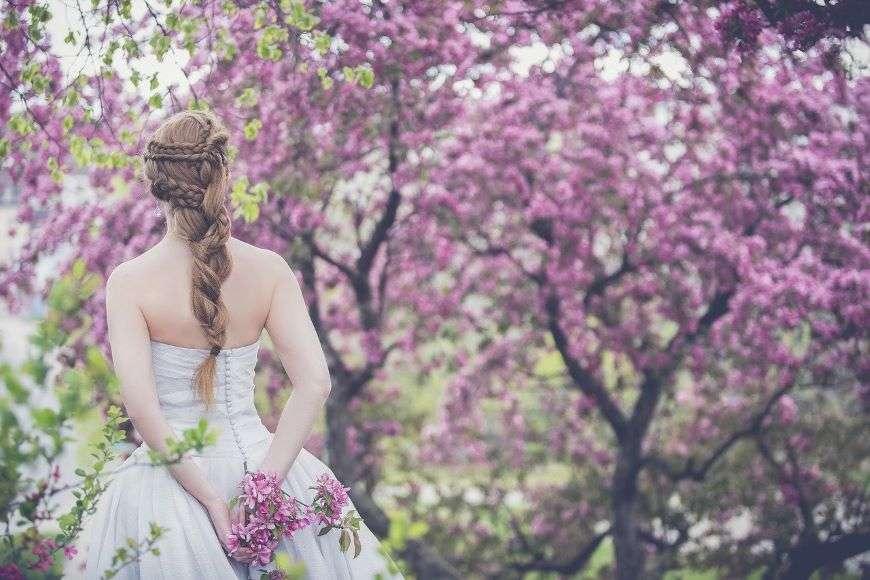 Wedding Rentals Miami Bride in the outdoors