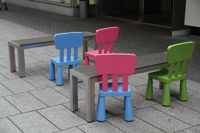 children chairs and tables