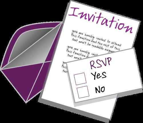 invitation-RSVP