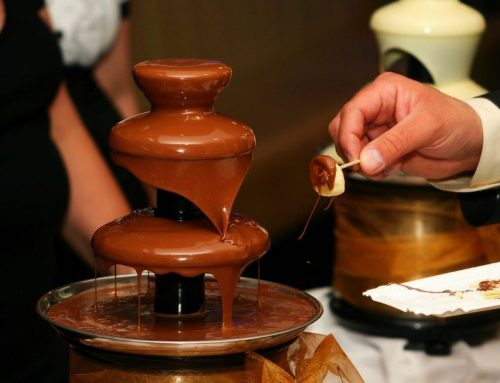 Use our Chocolate Fountain Machine Rental for a Valentine's Day Party!