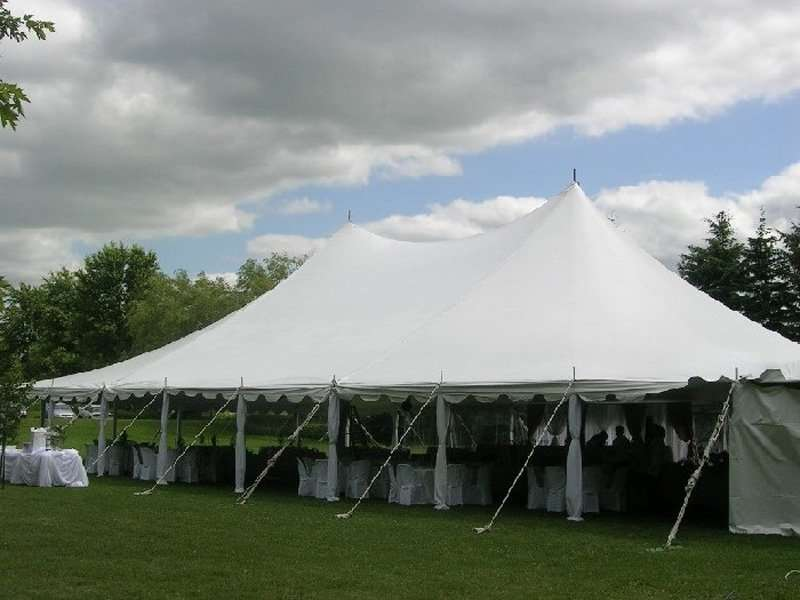 outdoor affordable tent rental