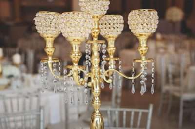 brass candelabra table chairs