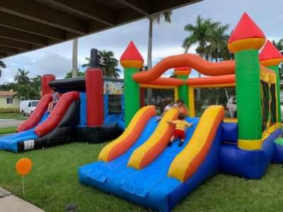 Bounce house combo best party items