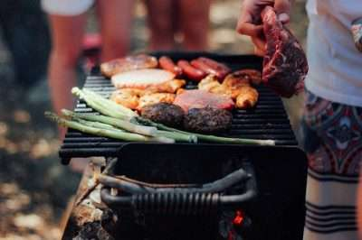 BBQ Meat and food