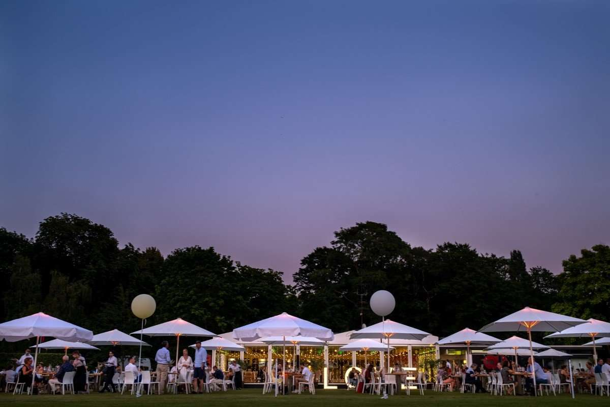 renting party tents for outdoor events